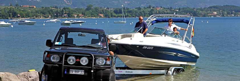Camping Gardasee mit Boot